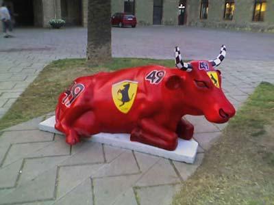 La vaca Ferrari