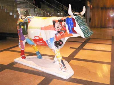 Una vaca Disney
