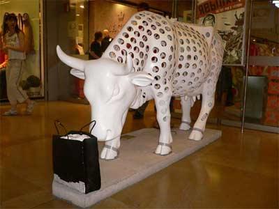 Una vaca Gruyere