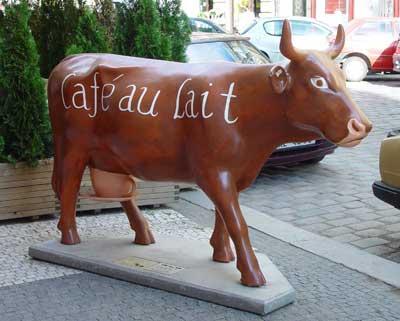La vaca perfecta para el café con leche