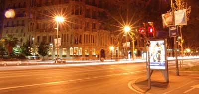 Confluencia de Enric Granados con la Diagonal