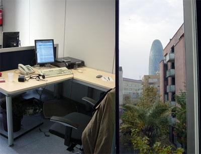 Mi nueva oficina