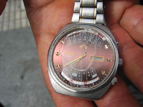 Un reloj parado a las 7.39 del 11M de 2005