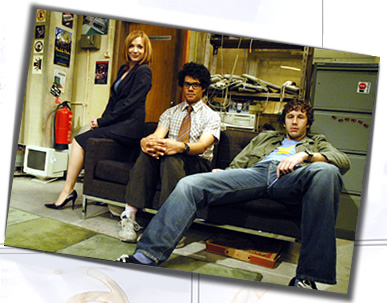 Los personajes de The IT Crowd
