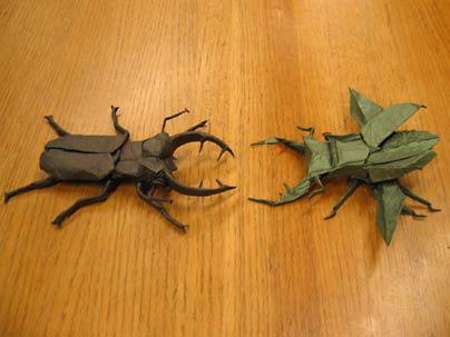 Dos escarabajos