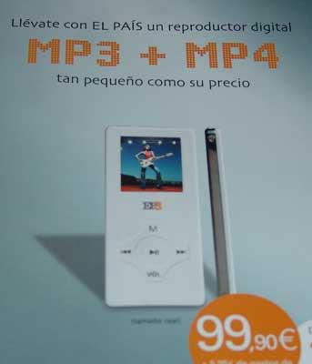 Una copia descarada del iPod nano