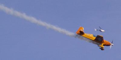 Fotos de la carrera aérea Redbull de Barcelona
