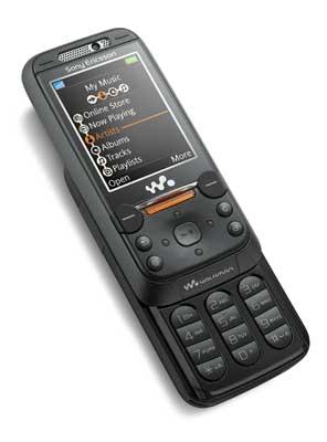 El Sony Ericsson W850