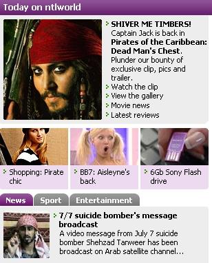 Jack Sparrow o Shehzad Tanweer