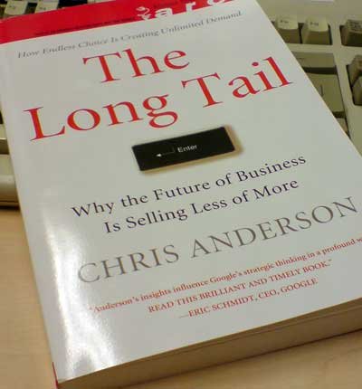 La portada de The Long Tail, de Chris Anderson