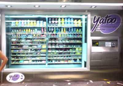ENORME máquina de vending