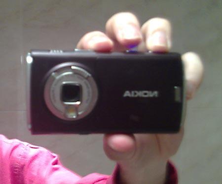 Autoretrato de un Nokia N95