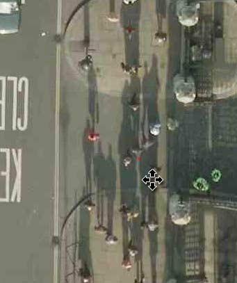 Una foto de satélite a resolución 1 píxel:4 centímetros