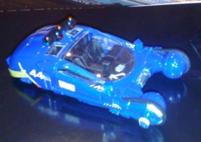 La miniatura del coche volador de la película