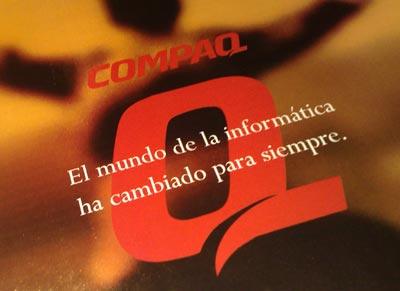 Publicidad de Compaq