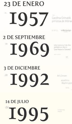 ¿Cuál es el significado de esas fechas? Haz clic y lo verás