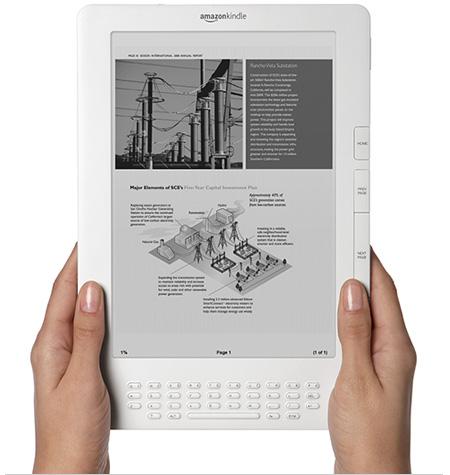 El nuevo Kindle DX