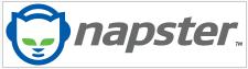 El logo de Napster