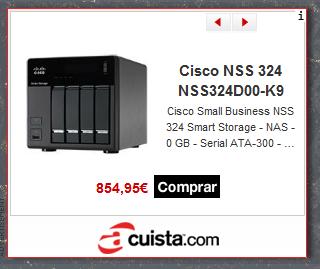Anuncio de un servidor de almacenamiento en acuista.com