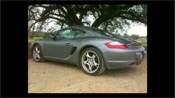 Foto de un coche, un Porsche