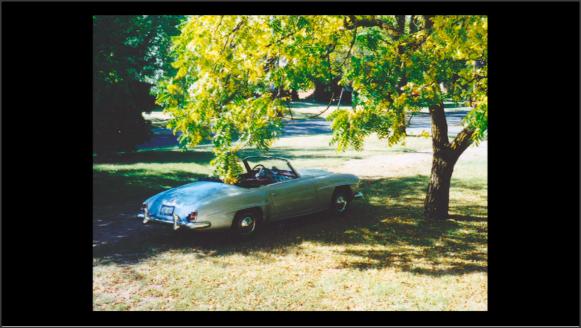 Foto de un coche clásico