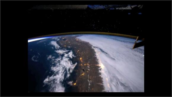 Captura de vídeo. La Tierra desde el espacio
