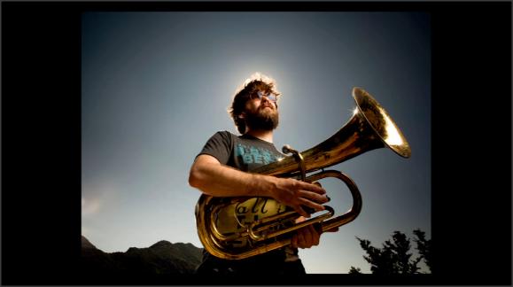 Foto de un músico