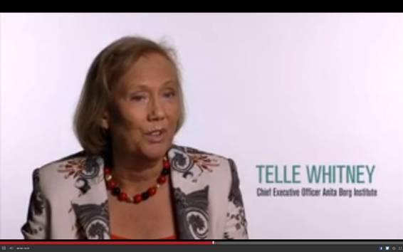Telle Whitney, presidenta del Anita Borg Institute