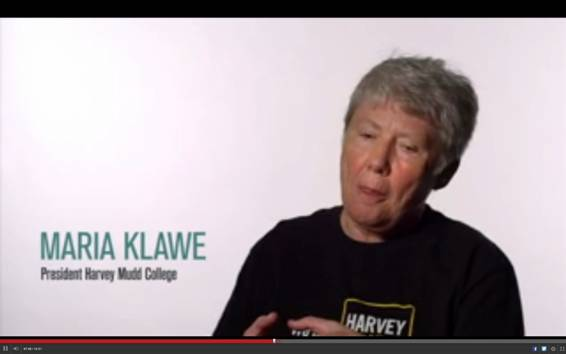 Maria Kalwe, rectora del Harvey Mudd College