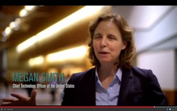 Megan Smith, responsable de tecnología de Estados Unidos