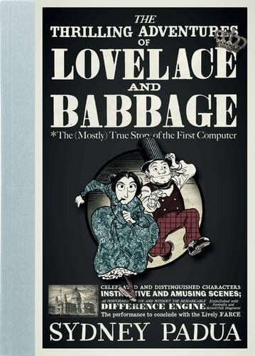 Portada del libro (en inglés) Las Emocionantes Aventuras de Lovelace y Babbage